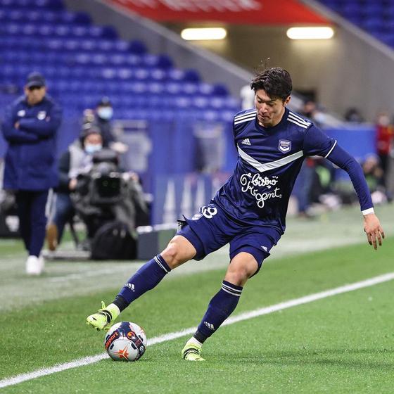황의조가 시즌 6호 골을 터뜨렸다. 지난 시즌 기록한 자신의 유럽 개인 최다골과 타이다. [사진 보르도 인스타그램]