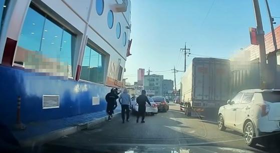 [화성 폭행 사건 영상. 유튜브 캡처]