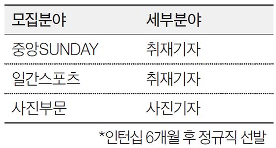 중앙일보플러스 신입기자