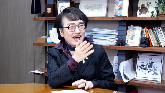 9일 열린민주당 서울시장 후보로 낙점된 김진애 의원. 중앙포토
