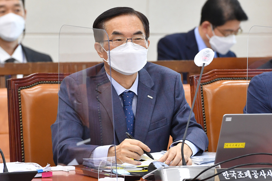 지난 5일 퇴임한 조용만 전 한국조폐공사 사장. 오종택 기자