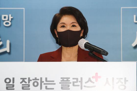 """조은희 """"코로나가 서울 시장과 시장에 피해를 입었나?"""