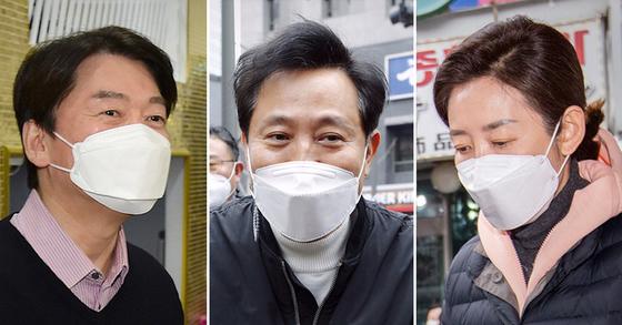 나경원 · 오세훈, '동맹 정부'대응 … 안철수 · 금태섭 삐걱 거리다-중앙 일보
