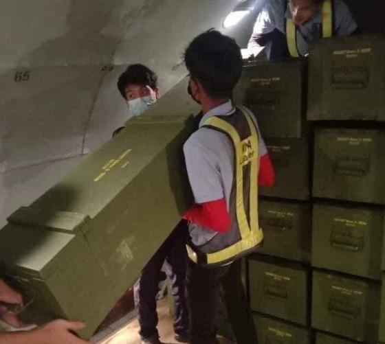 """""""이 해산물? 중국의 만리 방화벽을 보냈다""""미얀마 흔들리는 사진"""