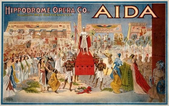 이집트의 꾸준한 설득과 이국적 소재가 결국 베르디를 움직였고, 베르디는 또다시 역사에 남을 명작을 작곡하게 되었다. [사진 pxhere]