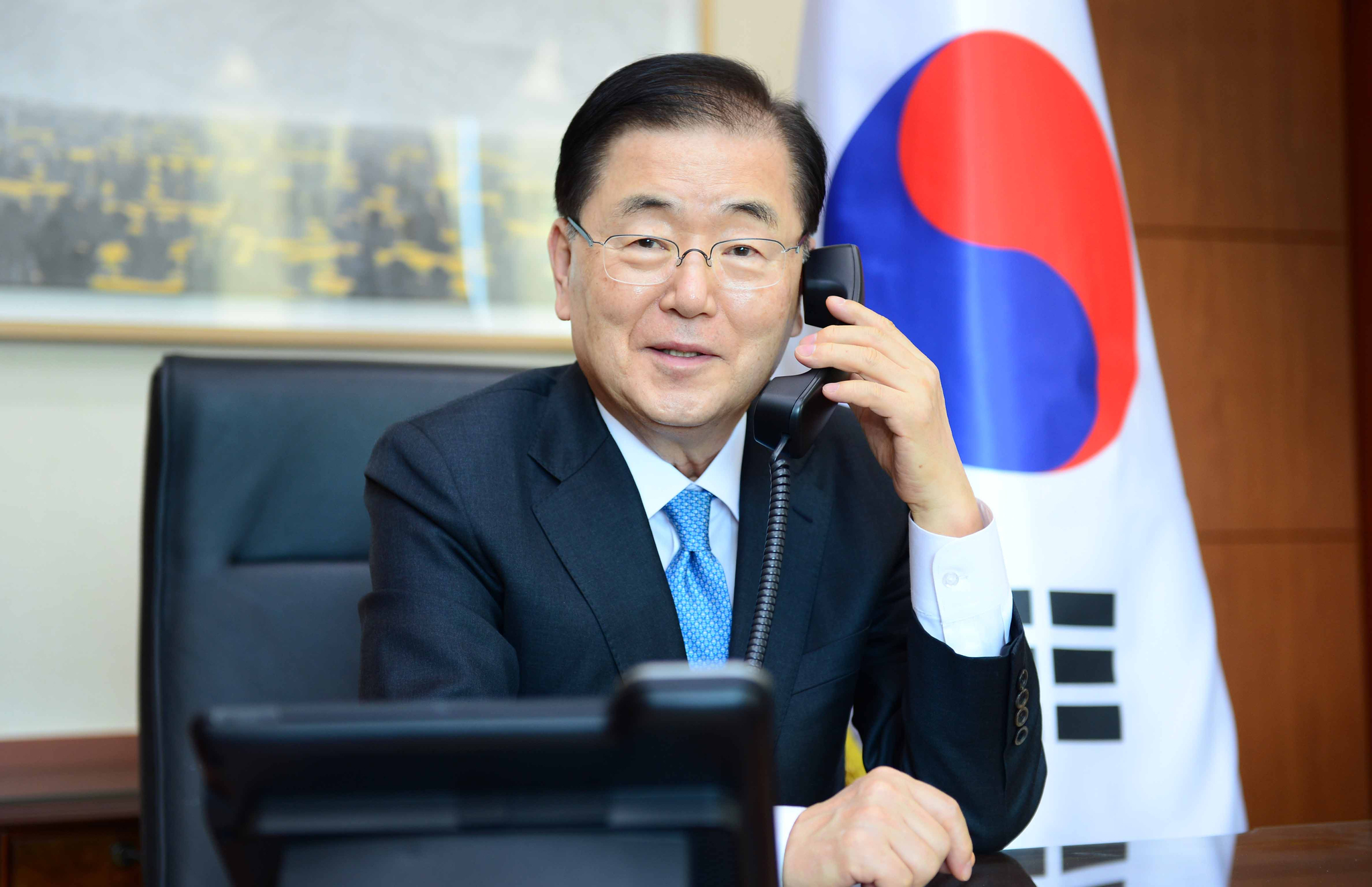 정의용 외교부 장관. 사진 외교부