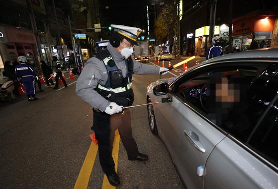 음주단속 이미지. 이 사진은 기사 내용과 무관합니다. 연합뉴스