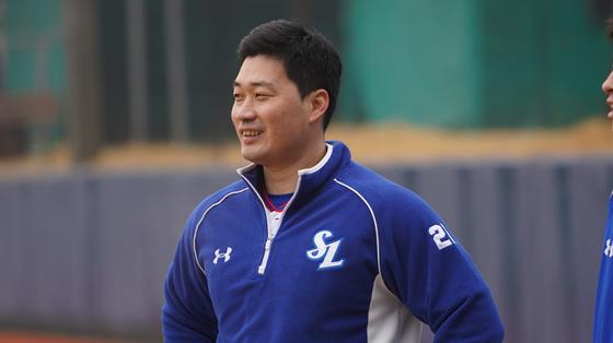 사진은 경산볼파크에서 훈련 중인 오승환의 모습. 삼성 제공