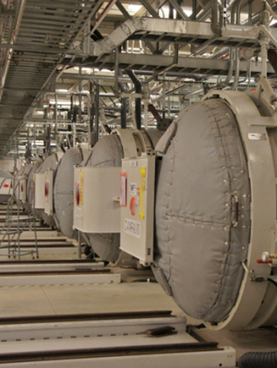 이란이 우라늄 농축 농도를 20%로 높이겠다고 국제원자력 기구에 통보했다. 사진은 2019년 11월 6일 이란 북쪽 도시 콤의 우라늄 변환 시설. [AFP=연합뉴스]