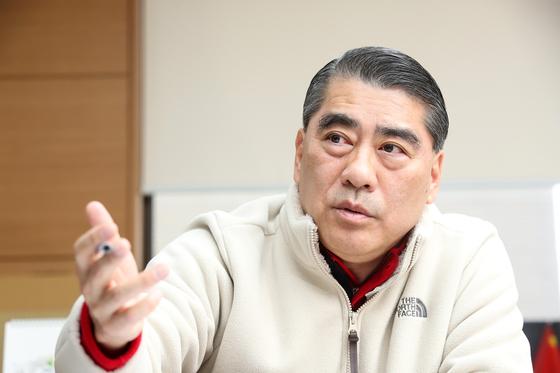 오창희 한국여행업협회(KATA) 회장이 중앙일보와 인터뷰했다. 우상조 기자