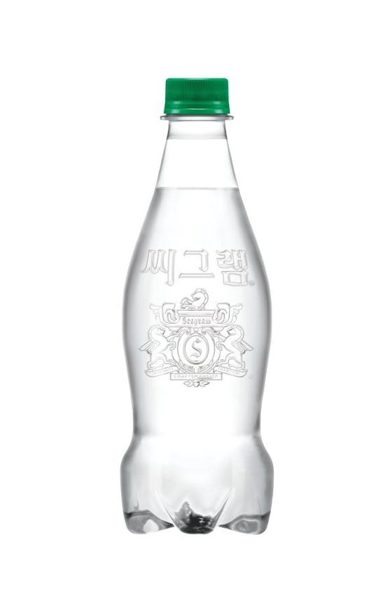 코카콜라사의 무라벨 탄산음료 '씨그램 라벨 프리'. 코카콜라사 제공