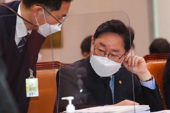 박범계 법무부 장관. 오종택 기자