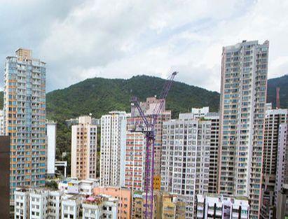 홍콩에 '벼룩 아파트'로 불리는 18~20㎡짜리 초소형 아파트. [ AP=연합뉴스]