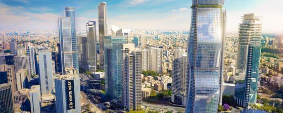 글로벌 기술기업들의 R&D 센터들이 모여있는 이스라엘 텔아비브 [사진 요즈마그룹코리아]