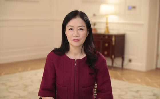 캐서린 첸 화웨이 홍보·대외협력 부문 총괄 사장 겸 이사회 임원. [사진 화웨이]