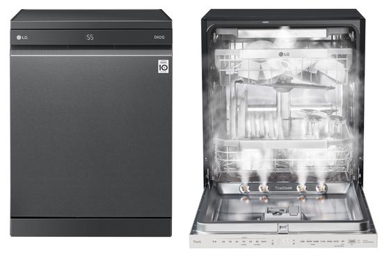 LG 디오스 식기세척기 스팀(왼쪽)과 LG 오브제컬렉션 식기세척기. LG전자 제공