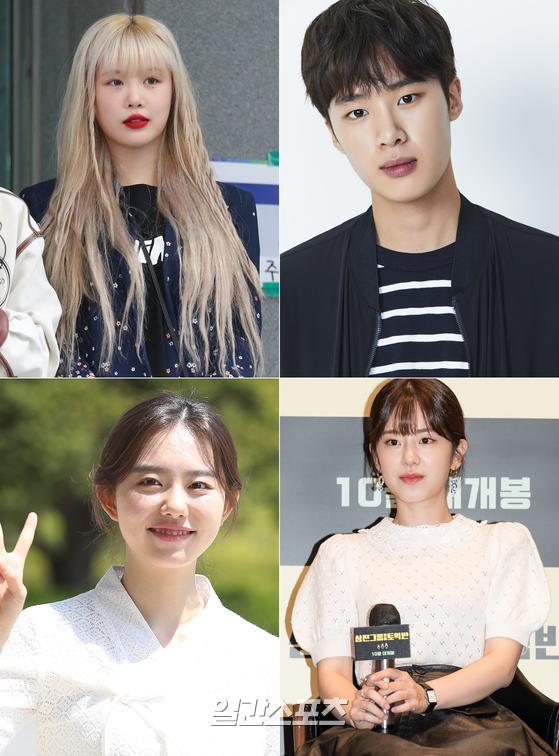 (왼쪽 위) 수진, 김동희, 김소혜, 박혜수