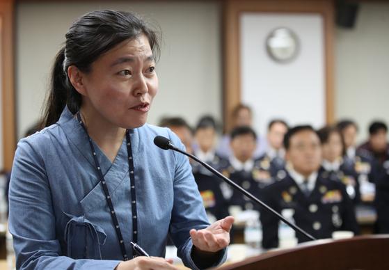 2019년 10월 4일 임은정 검사. 연합뉴스