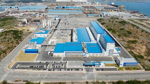 포스코케미칼 광양 양극재 공장 전경. [사진 포스코케미칼]