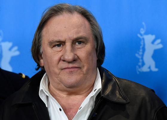 지난 2016년 2월19일 제라드 드파르디외가 베를린 영화제에 참석하고 있다. AFP=연합뉴스