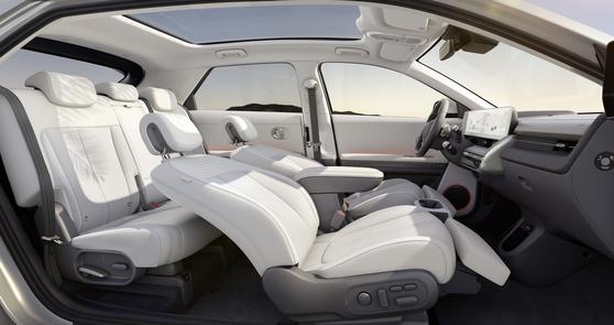아이오닉5의 차량 내부. [사진 현대차]