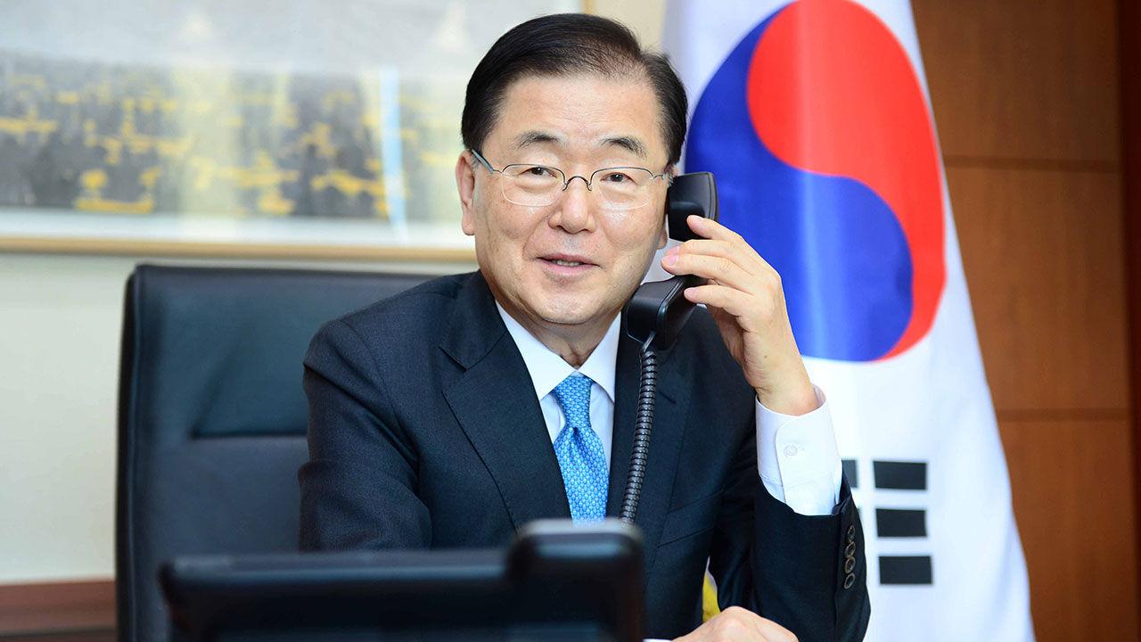 정의용 외교부 장관. 연합뉴스