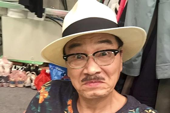 지난 27일 간암으로 별세한 홍콩 코믹영화의 전설적인 배우 우멍다(오맹달). [사진 웨이보]