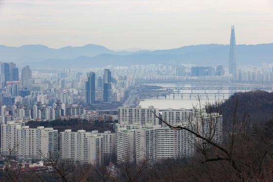 서울 시내 아파트의 모습.  연합뉴스