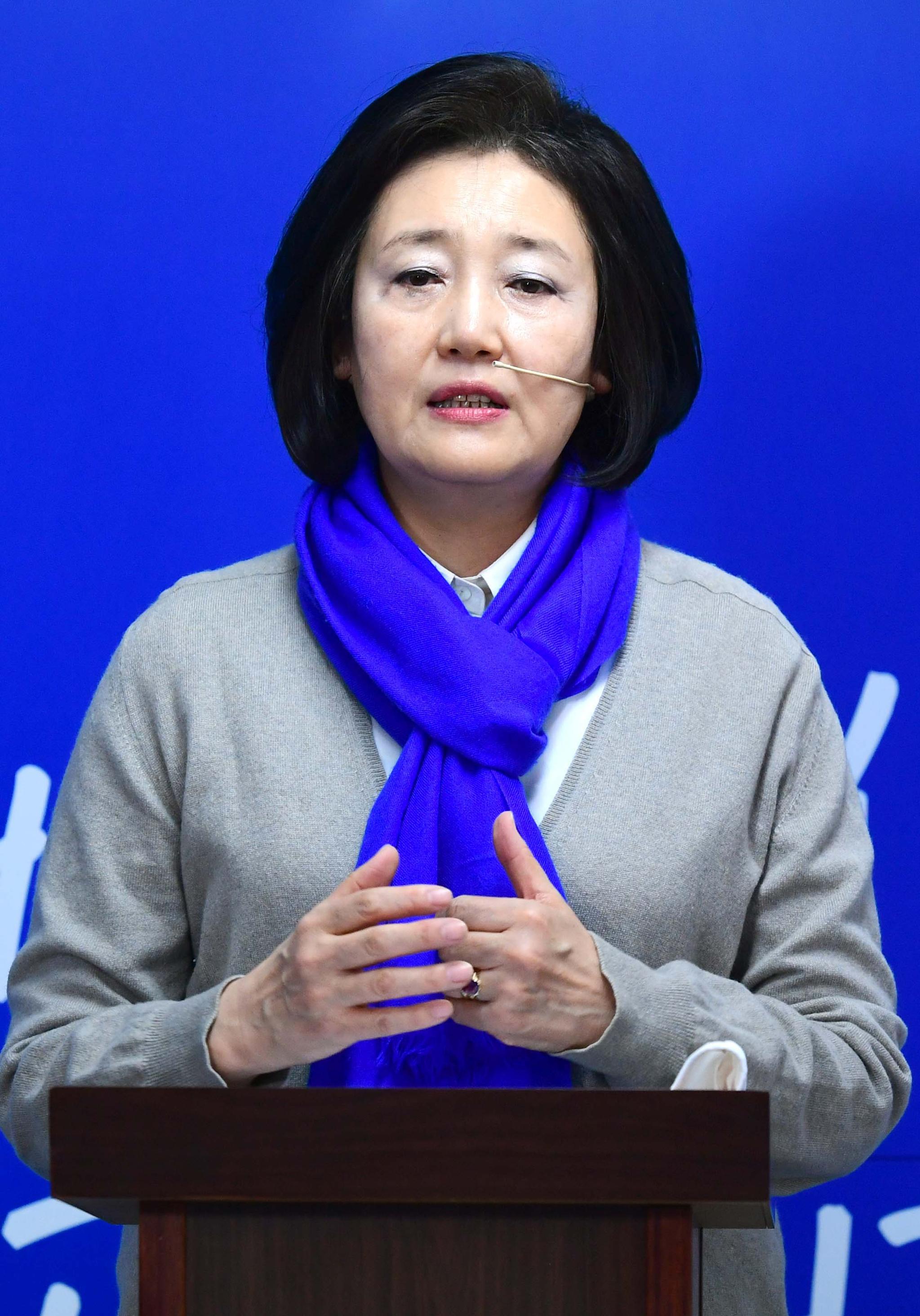 박영선 더불어민주당 서울시장 후보. 오종택 기자