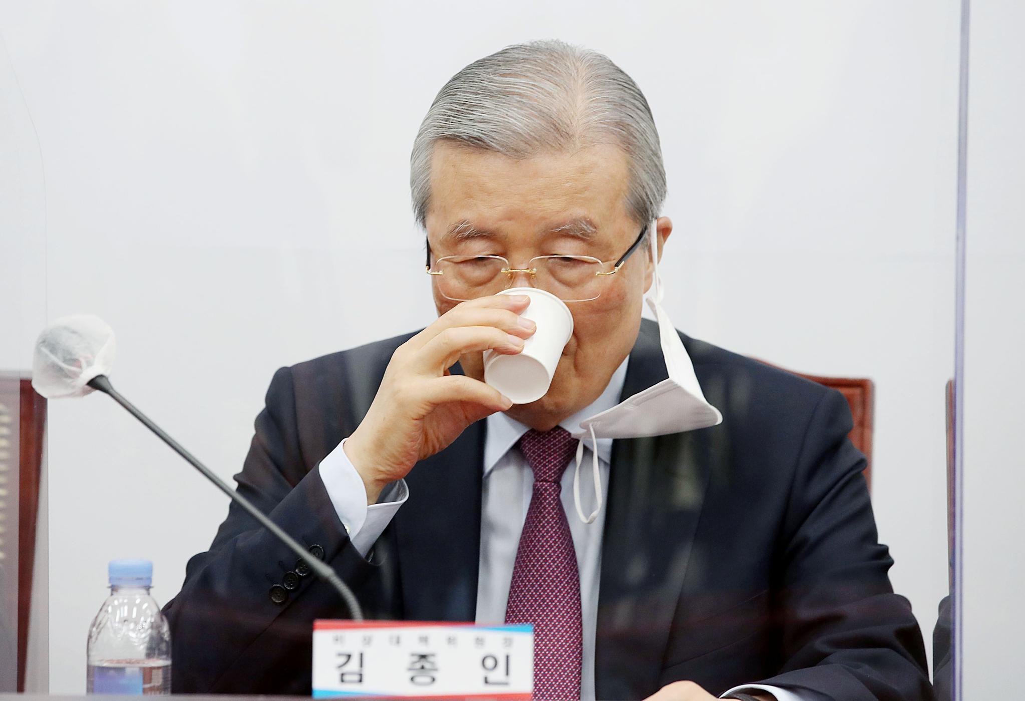 김종인 국민의힘 비상대책위원장. 오종택 기자