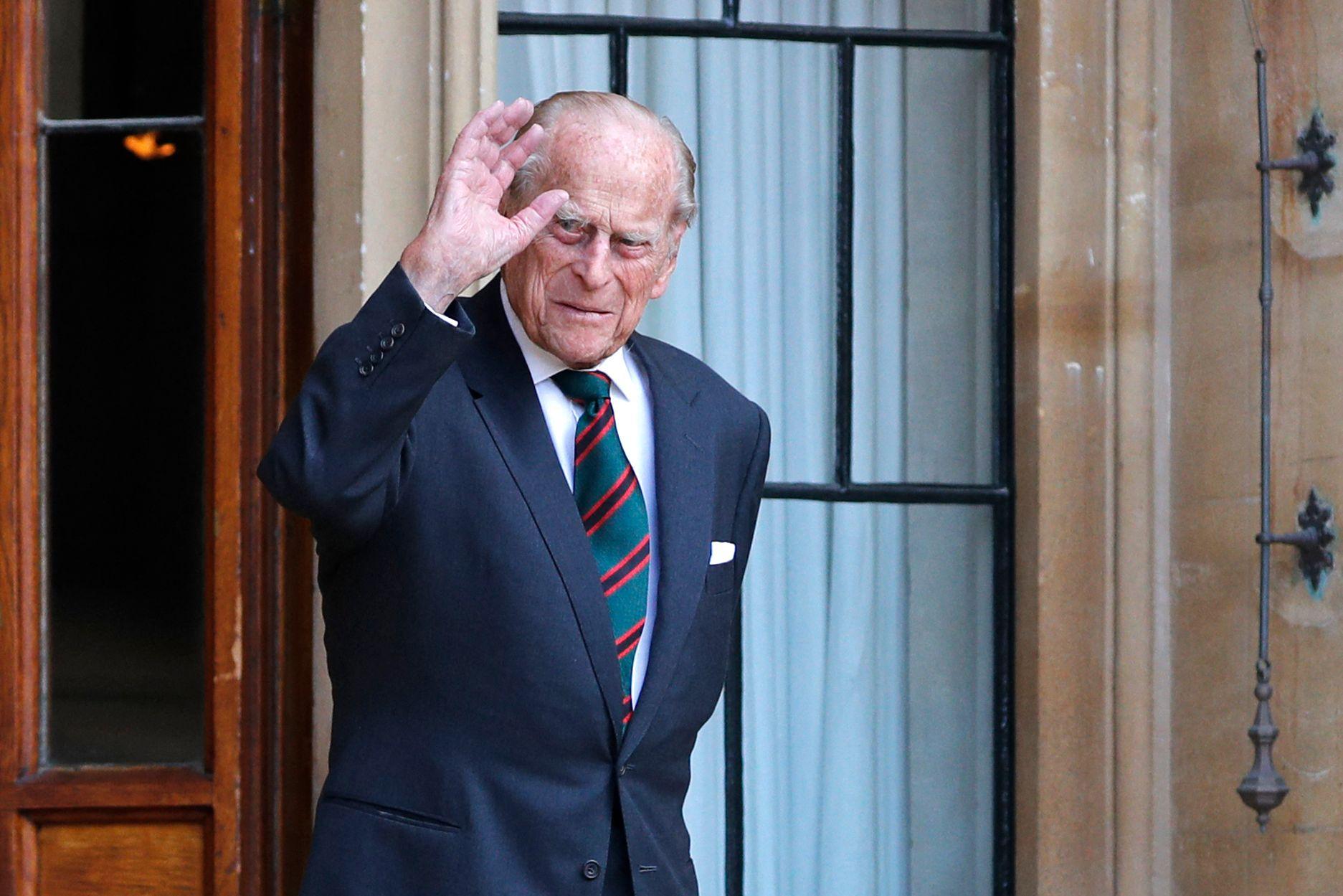 엘리자베스 2세 영국 여왕의 남편 필립공. AFP=연합뉴스