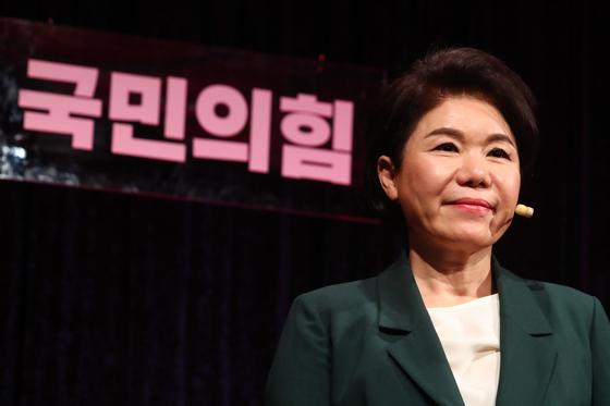 조은희 국민의힘 서울시장 예비후보. 국회사진기자단