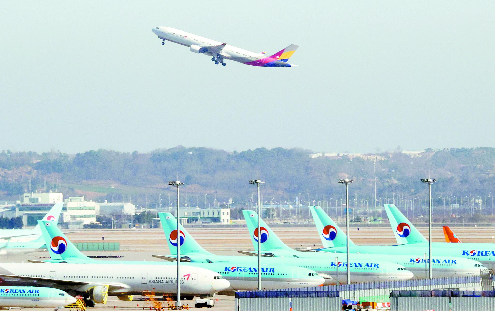 국내 항공사가 운영 중인 비행기 45대가 기령 20년을 넘은 것으로 조사됐다. [연합뉴스]