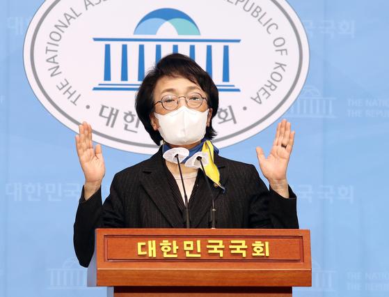 김진애 열린민주당 서울시장 후보. 뉴스1
