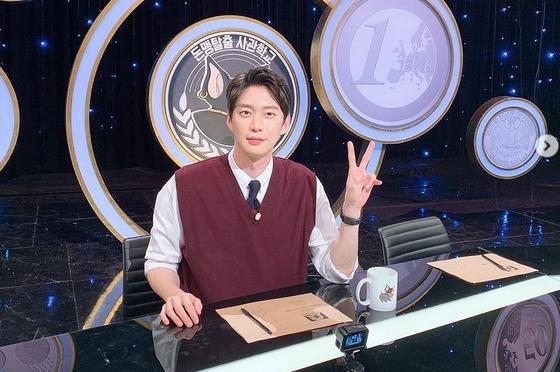 김윤상 SBS 아나운서. 사진 인스타그램