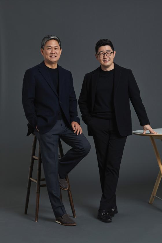 김성수, 이진수 카카오엔터테인먼트 각자 대표. [사진 카카오엔터테인먼트]
