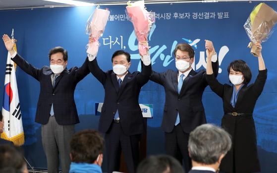 """與 김영천, 부산 보광 본선 진출… """"가덕도 후보로 통과"""""""