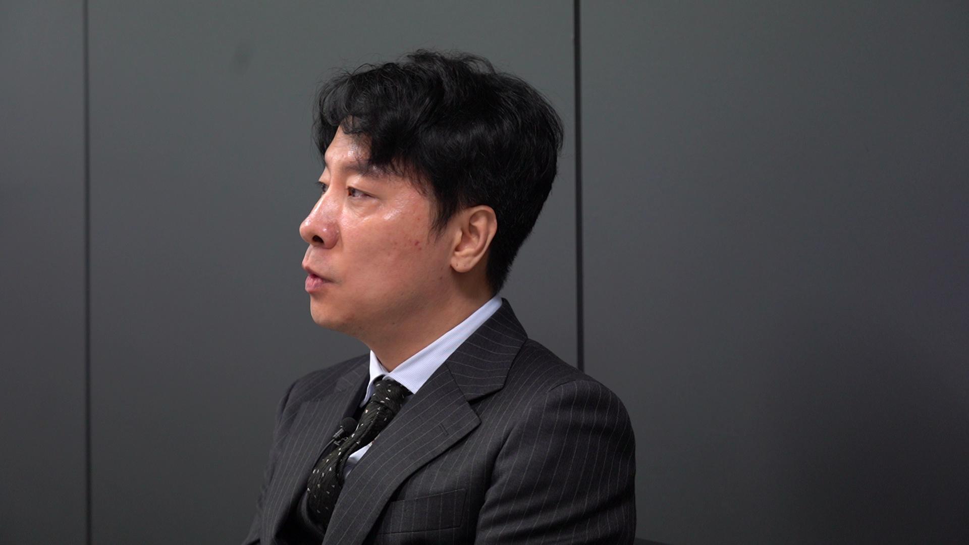 지난 2일 밀실팀과 인터뷰한 정희원 변호사. 백경민