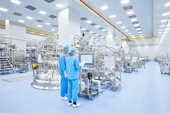 삼성바이오로직스 생산시설. 삼성바이오로직스