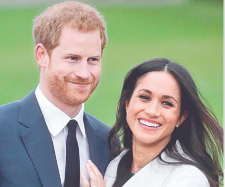 영국 해리 왕자와 메건 마클 왕자비. AFP=연합뉴스