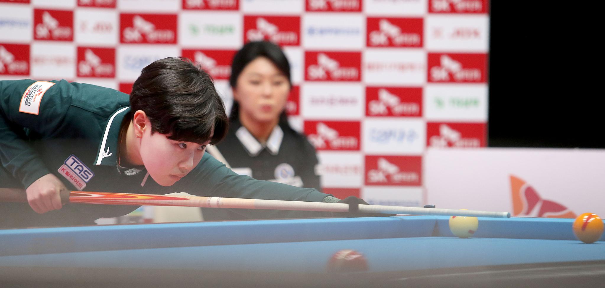 왕중왕전 격 LPBA에서 우승한 김세연. [사진 PBA]
