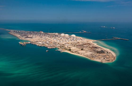 사우디 라스 타누라 원유터미널