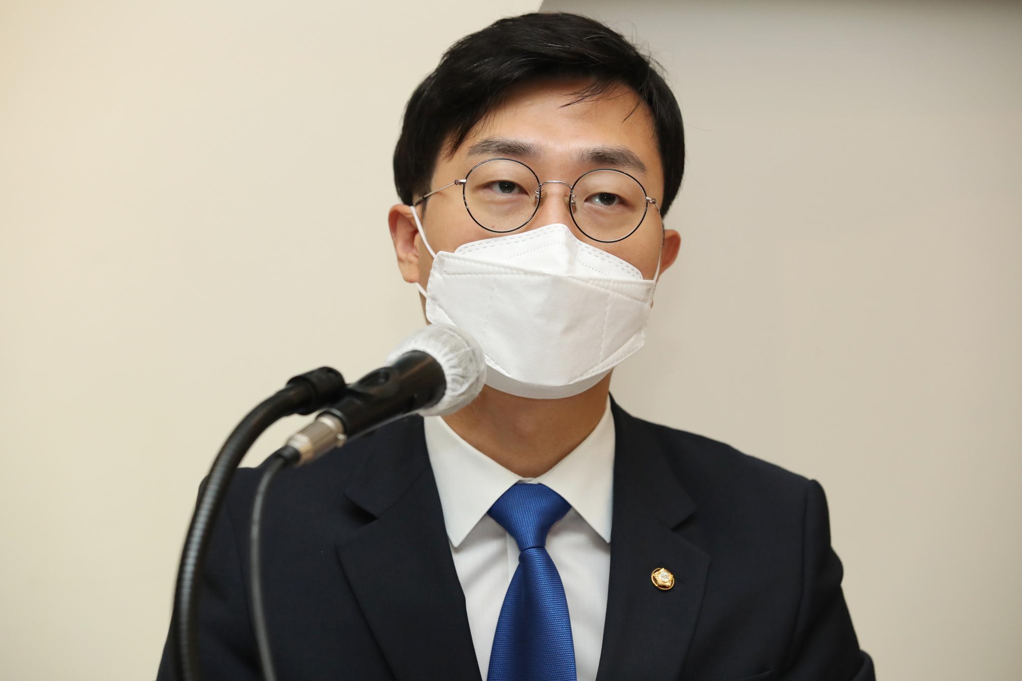 더불어민주당 장경태 의원. 연합뉴스