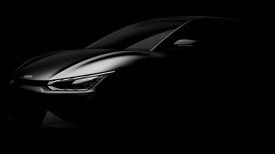기아가 9일 전용 전기차 EV6 이미지를 공개했다. [사진 기아]