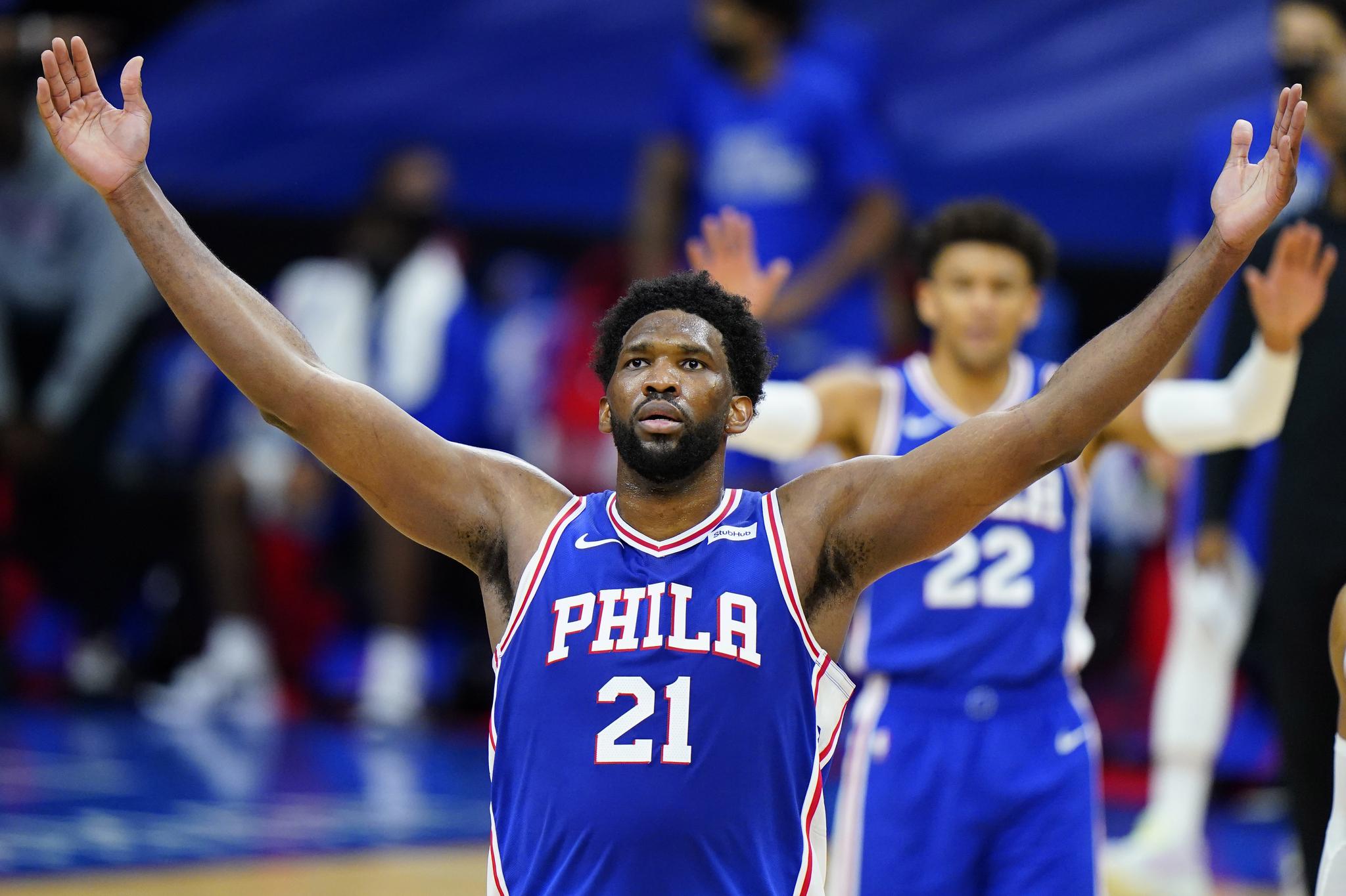 올 시즌 NBA를 평정하고 있는 필라델피아 엠비드. [AP=연합뉴스]