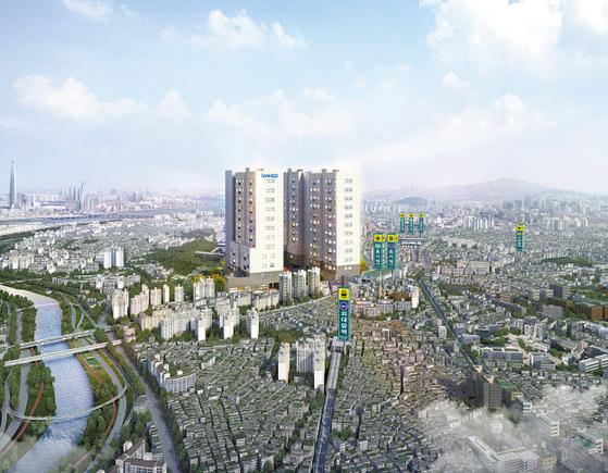 서울시 휘경동에 들어서는 회기역 리브인 조감도. 입지가 좋아 안정적인 임대수익은 물론 투자수익도 기대된다.