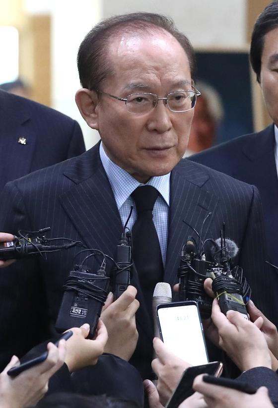 이회창 전 한나라당 총재.