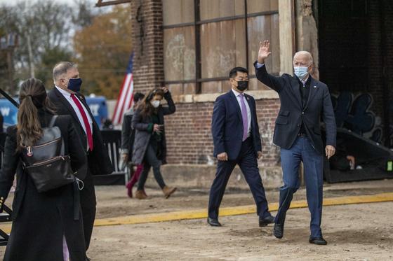 Biden은 거부권을 앞두고 조지아를 방문합니다. LG · SK는 어떤 청신호입니까?