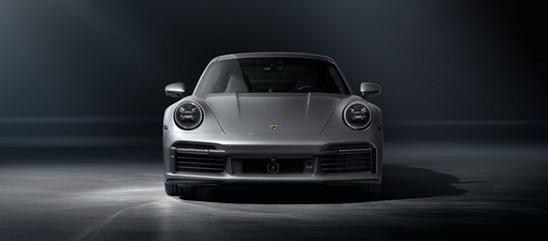 [2021 COTY] 포르쉐 911 터보S 전면. 사진 포르쉐