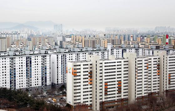 지난 14일 서울 노원구 아파트 단지의 모습. 뉴스1